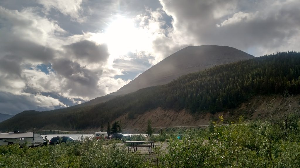 Stone Mountain Provincial Park Summit Campground