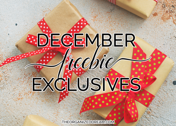 December freebies. #free