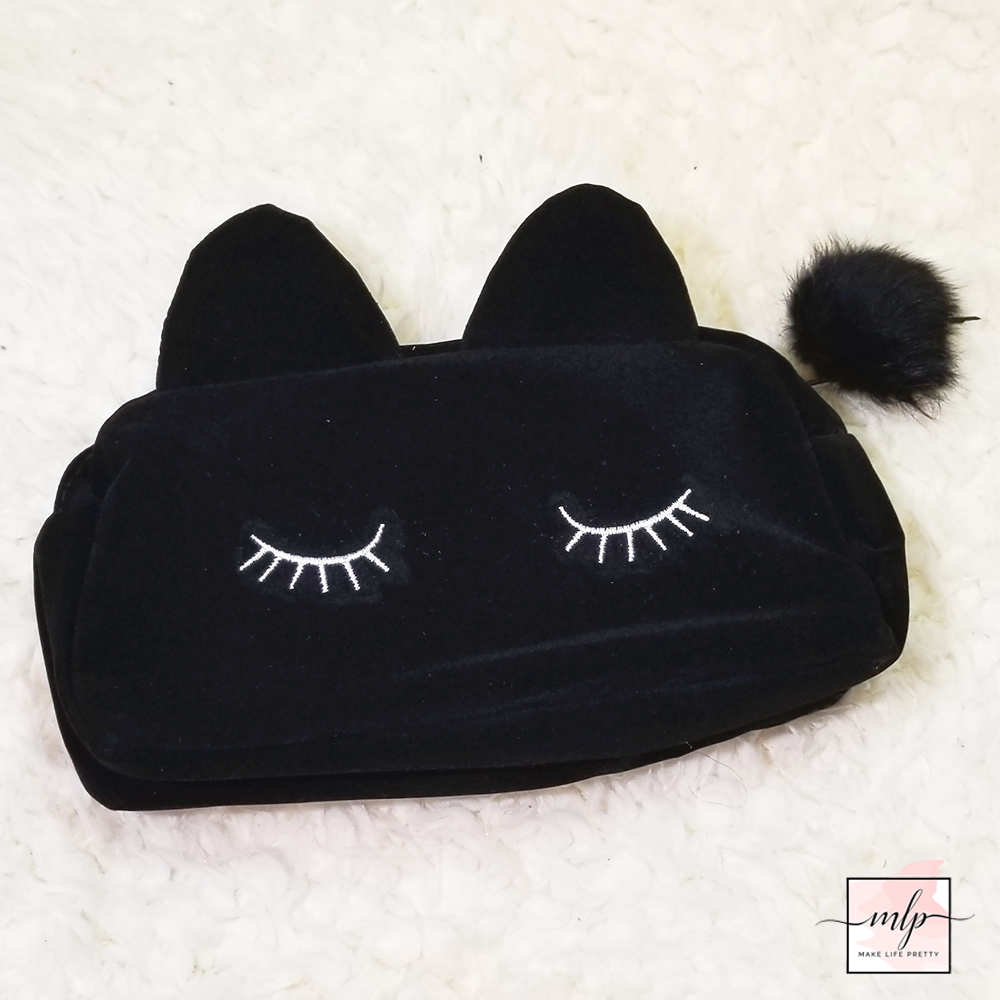 Posh Lashes Kitty Pencil Pouch