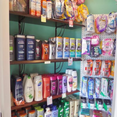 Coupon Stockpile Storage: Organizing my personal care items