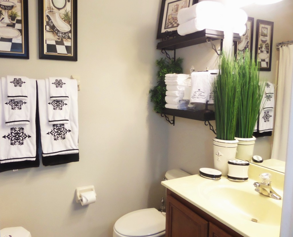 Small Guest Bathroom Makeover Featuring Lamps Plus Be My Guest With Denise