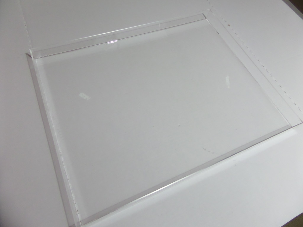 acrylic picture frame turned tray