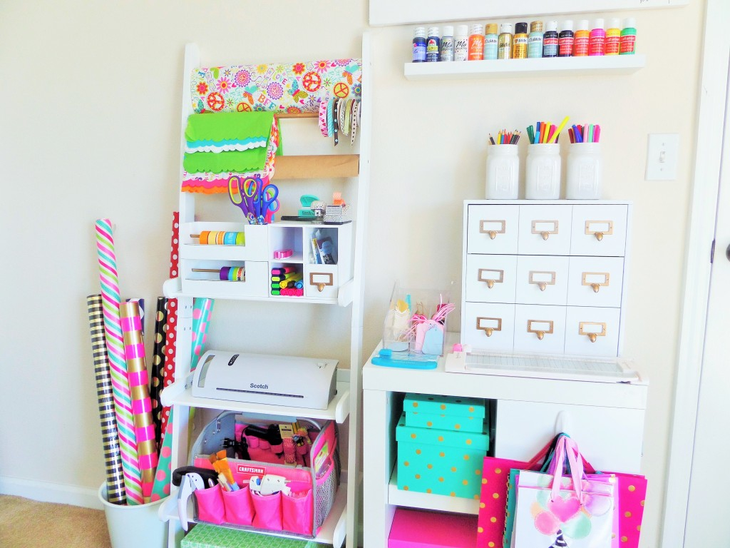 Gift Wrap + Craft Station