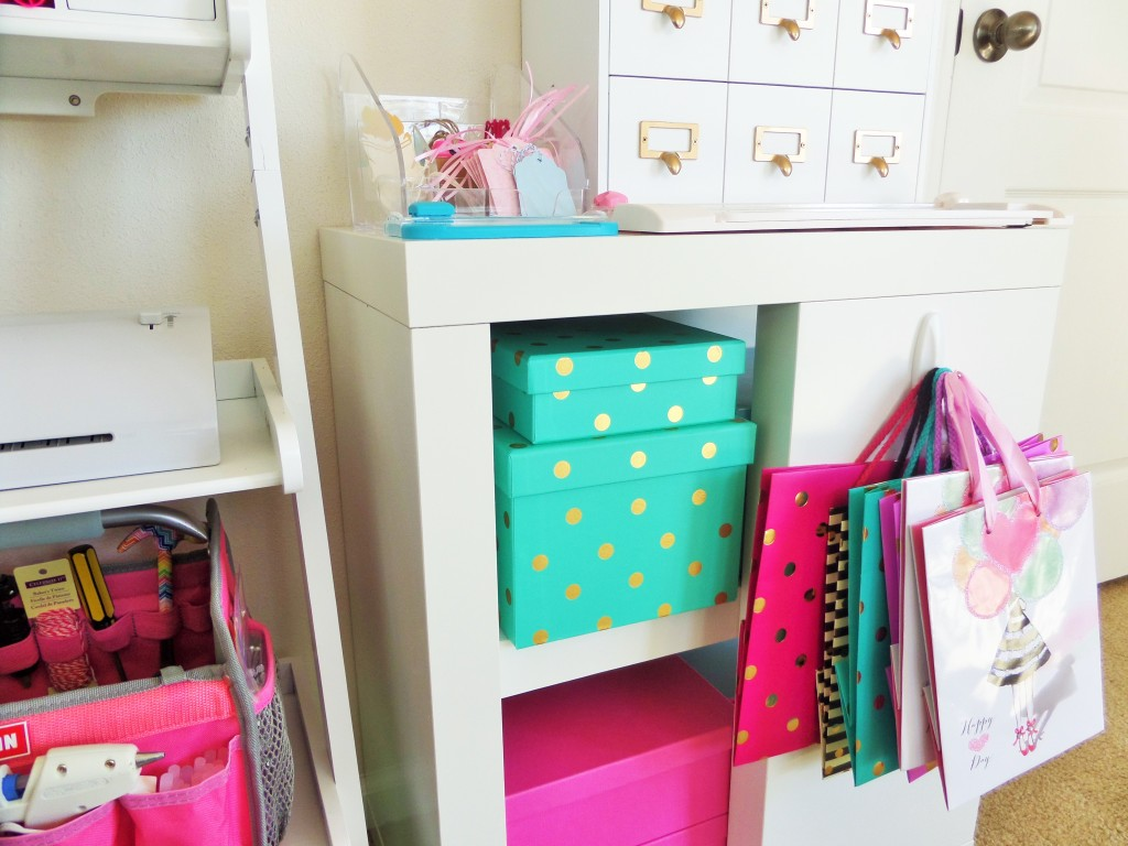 Polka Dot Storage Boxes