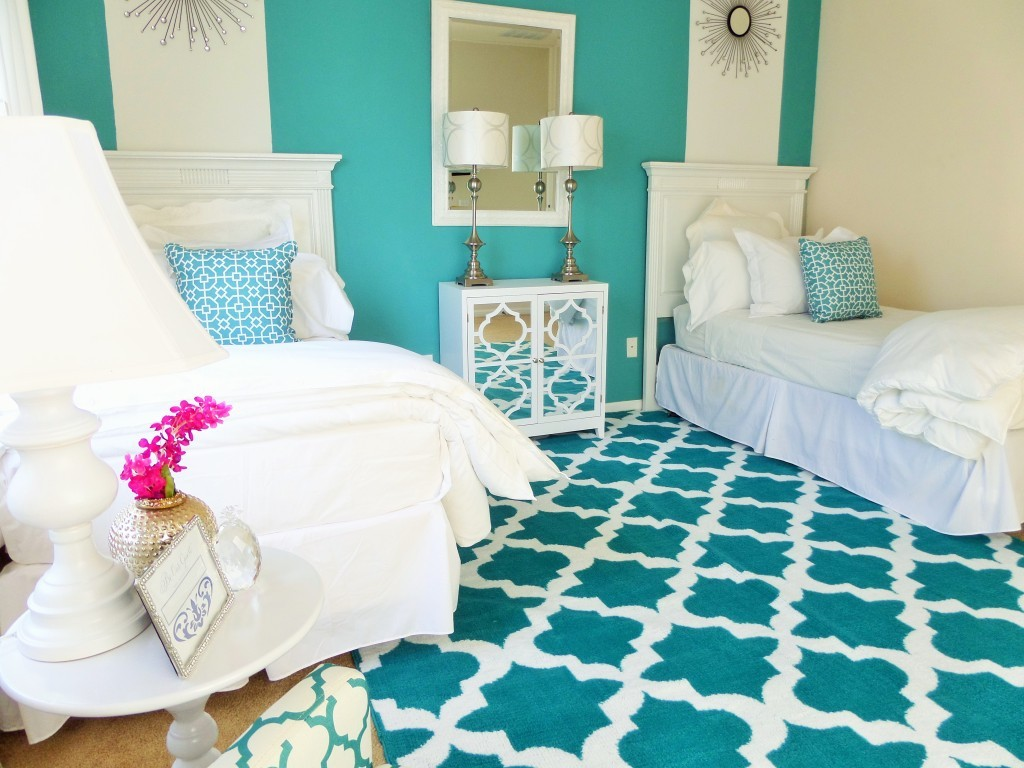 Guest Room Ideas One Room Two Beds