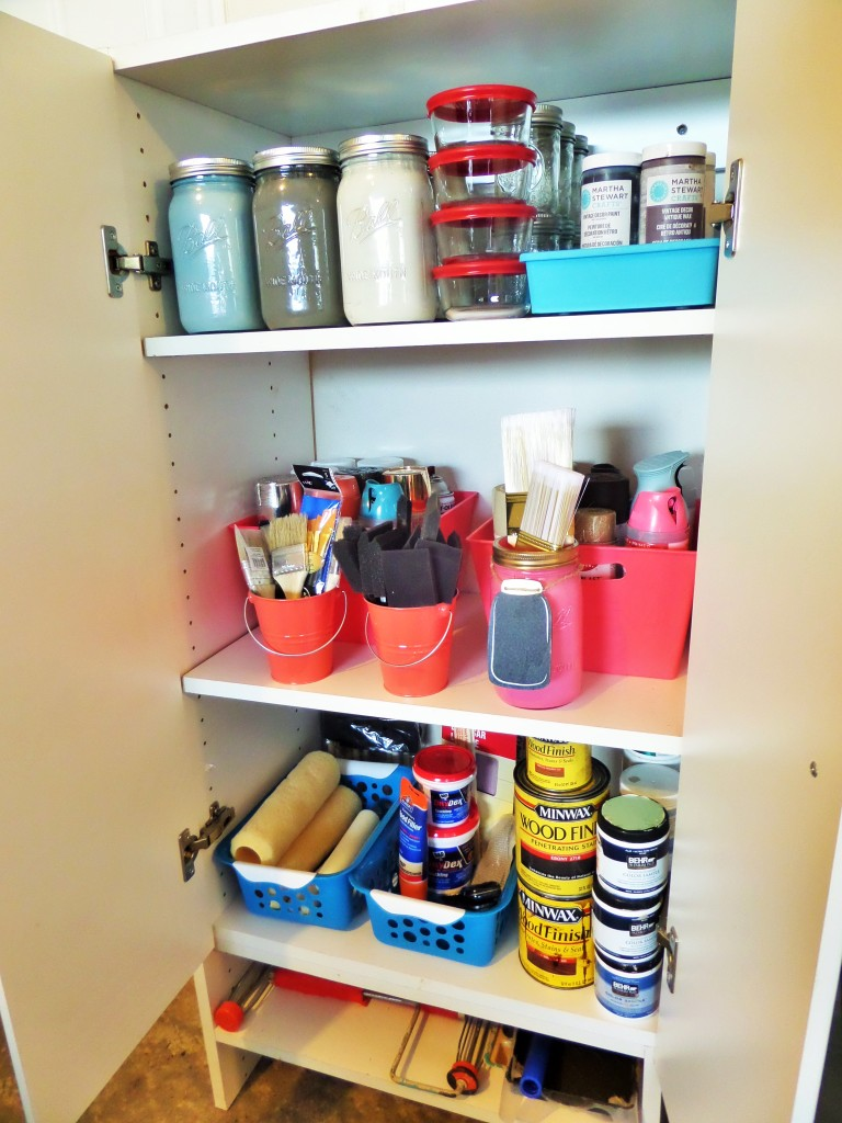 Leftover Paint Storage