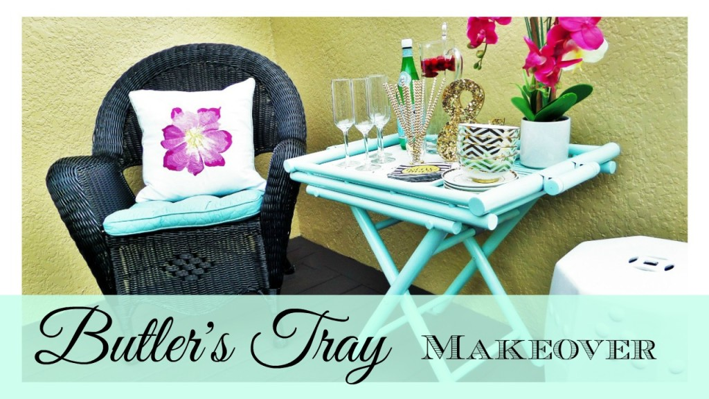 Butler's Tray Makeover