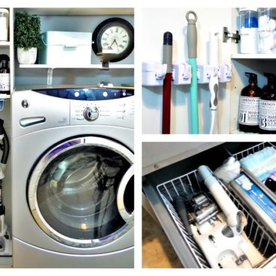 Laundry Room Organization Update