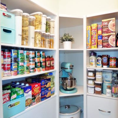 Pantry Organization And Tour W/ ClosetMaid Space Creations
