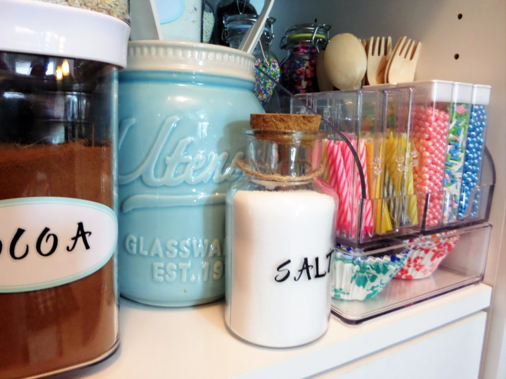 Baking Station in Closetmaid Pantry