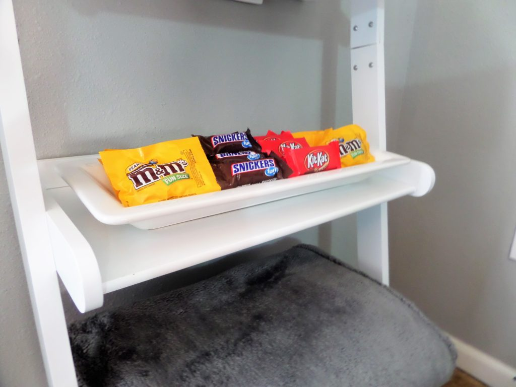 Ladder Shelf used as a concession stand