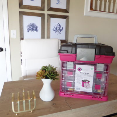 Creative Options Grab 'N Go | DIY Home Decor Tool Box