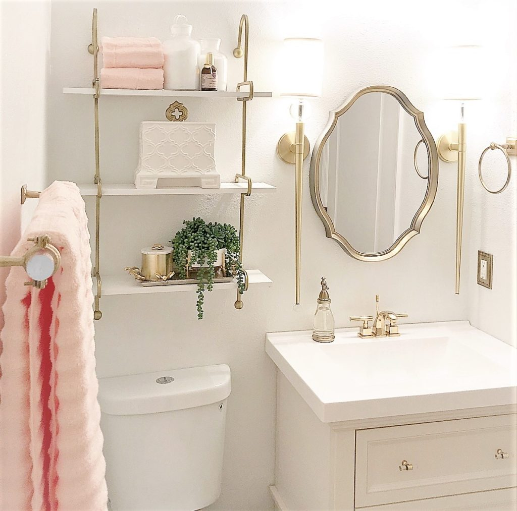 Small Guest Bathroom Makeover | Before And After