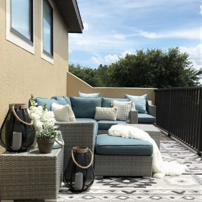 The Ultimate Outdoor Living Space with/Overstock.com