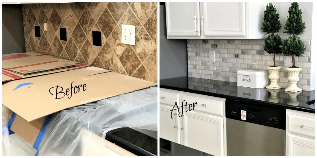 Before and After Kitchen Makeover with Floor & Decor