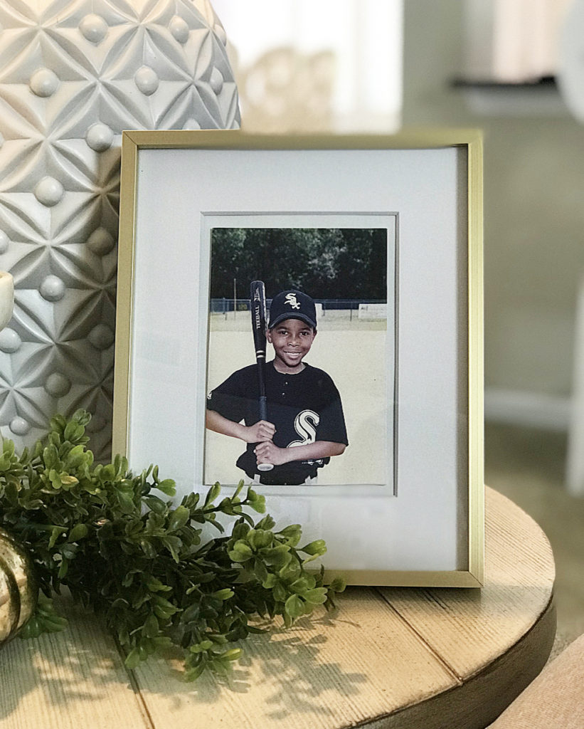 """Better Homes & Gardens 8""""x10"""" Gold Picture Frame"""