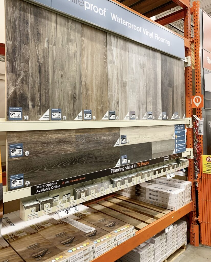 Home Depot Wood Floors
