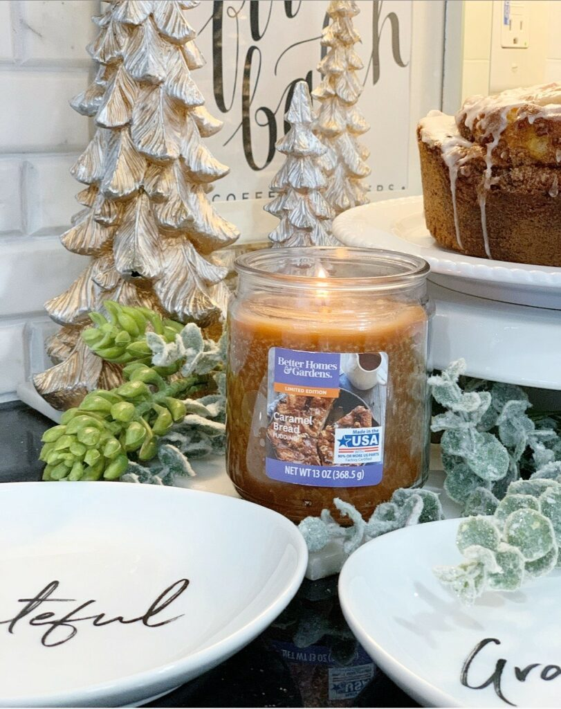 Better Homes & Gardens Jar Candle, Caramel Bread Pudding