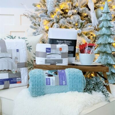 Affordable Christmas Gift Ideas w/Better Homes & Gardens at Walmart