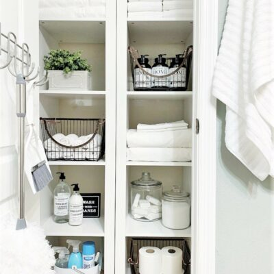 Linen Closet Makeover & Organization W/Better Homes & Gardens At Walmart