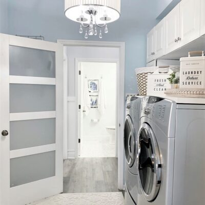 Two Day Laundry Room Refresh w/Better Homes & Gardens At Walmart