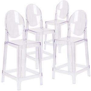Clear Acrylic Transparent Ghost Stools