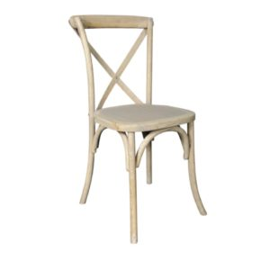 Cross Back Chair Natural