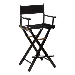 600 Directors Chairs Black On Black