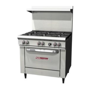 G-Commercial Propane Stove With Griddle