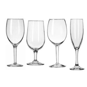 100-Tribecca Collection Wine Glasses