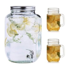 B3 Beverage Dispenser Mason Jar
