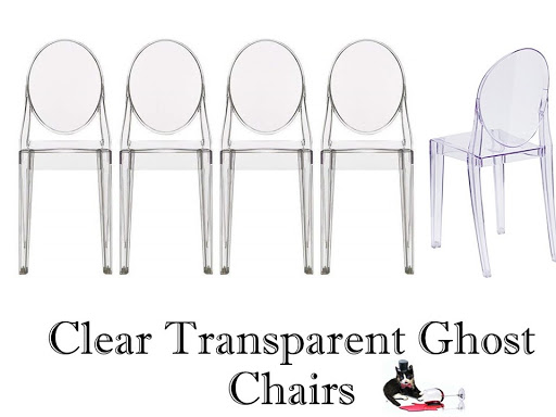 ghost round back chair for rent
