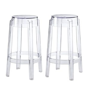Clear Bar Stools Acrylic Ghost