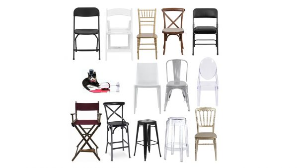 folding chairs bar stools for rent