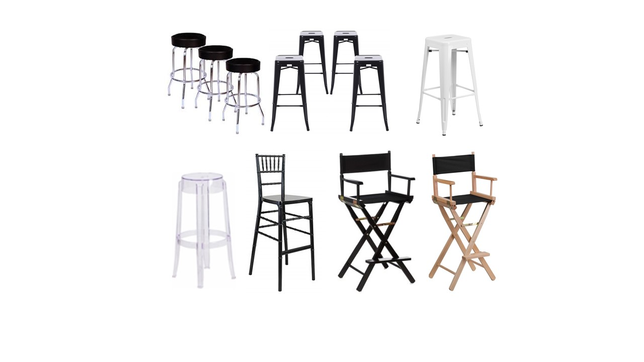 barstools for rent