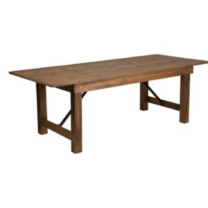209 Rustic Farm Table