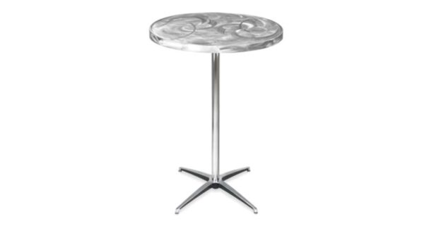 260 Round Metal Cocktail Table