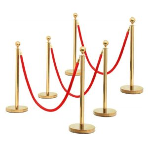 Gold Stanchion