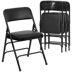 300 Folding Chair Corporate Black