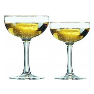 Coupe Champagne Cocktail 9 oz and 5.5 oz Glass