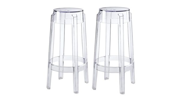 clear ghost bar stools