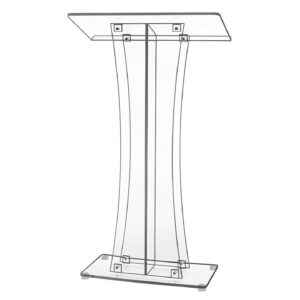 200 Clear Podium Lectern