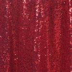 Sequin Tablecloth Burgundy - rectangle - 60X120