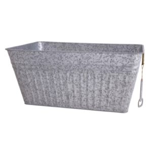 B1 Galvanized Rectangle Ice Tub