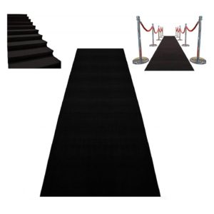 C Black Carpet Runners