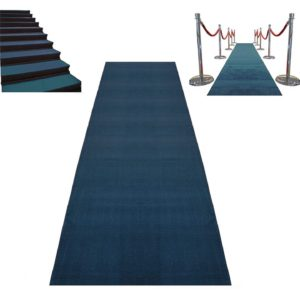 C Blue Carpet Runners for Rent