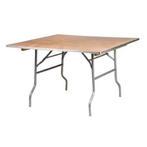 216 Square 48 Inch Card Table