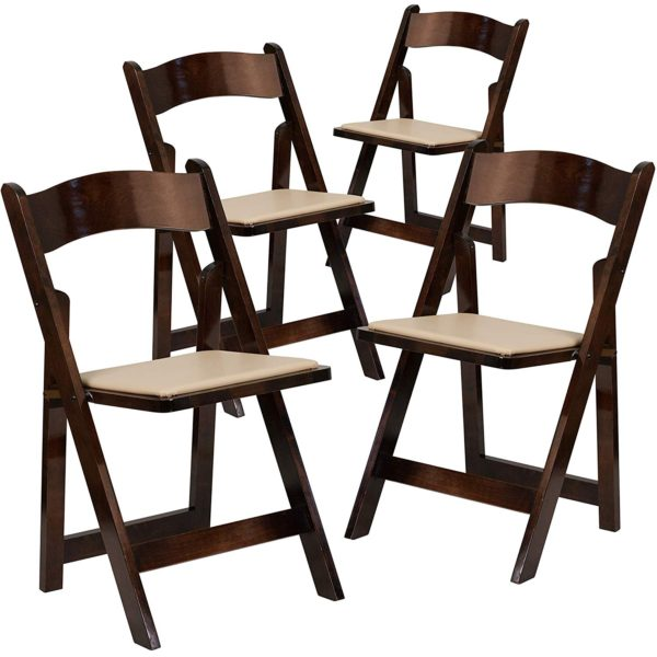 A Folding Chair Resin Fruitwood