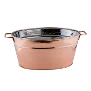 B1 Ice Display Tubs Copper Hammered