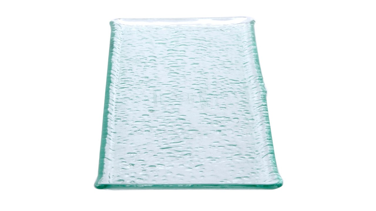 Glass Ocean Platter Rectangle